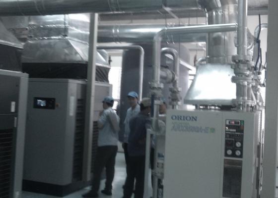 Hệ thống Ống hơi, Ống khí